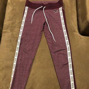 victoria's secert pink sweatpants